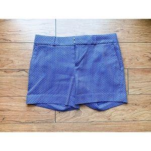 Banana Republic Diamond Blue Shorts